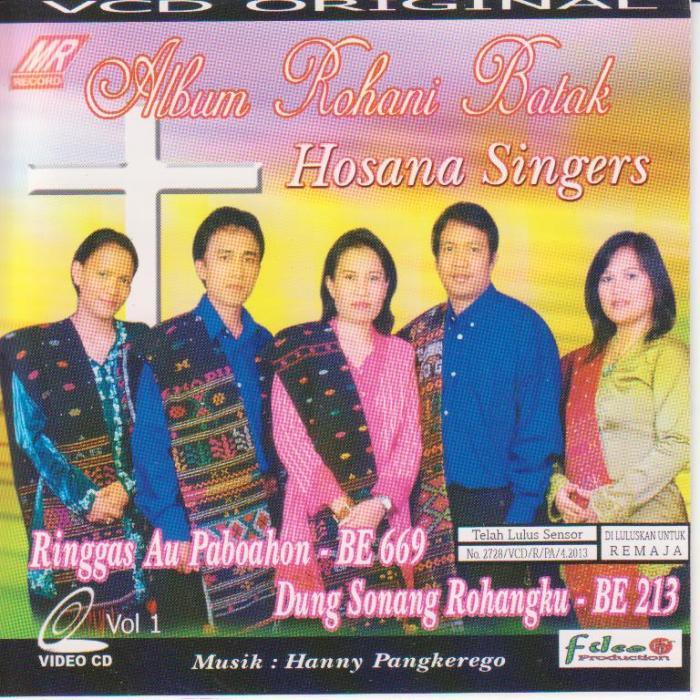 Hosana Singers Rohani - Ringgas Au Paboahon