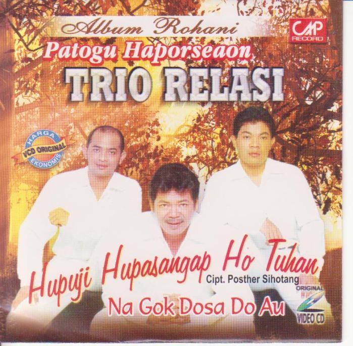 Trio Relasi - Hupuji Hupasangap Ho Tuhan