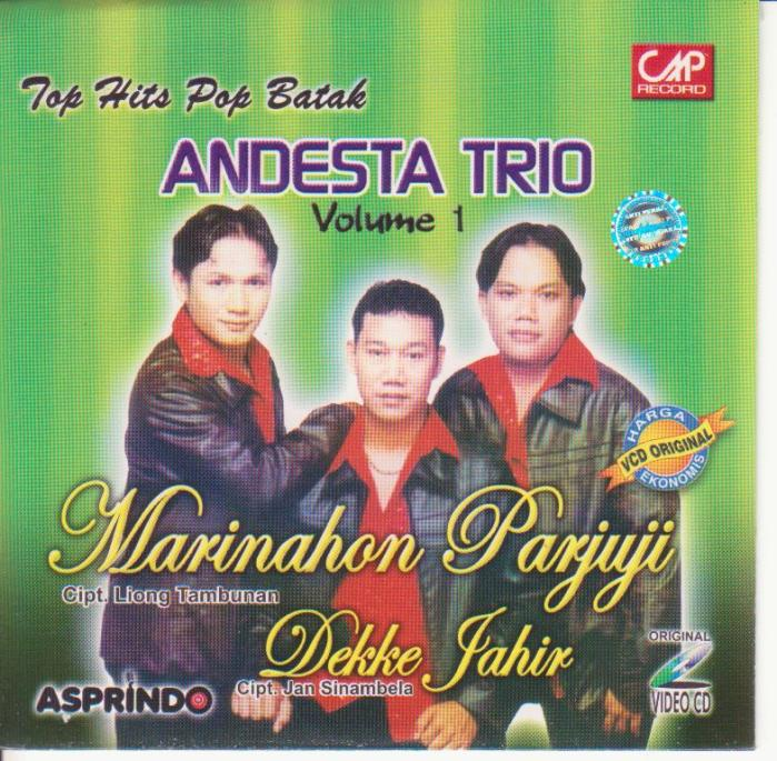 Andesta Trio Vol.1 - Marinahon Parjuji