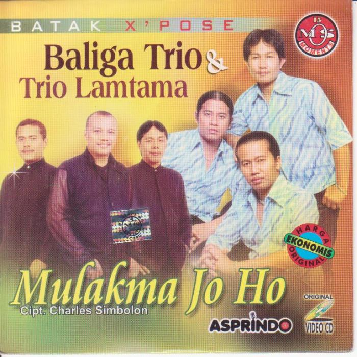 Baliga Trio & Lamtama Trio - Mulak Ma Jo Ho