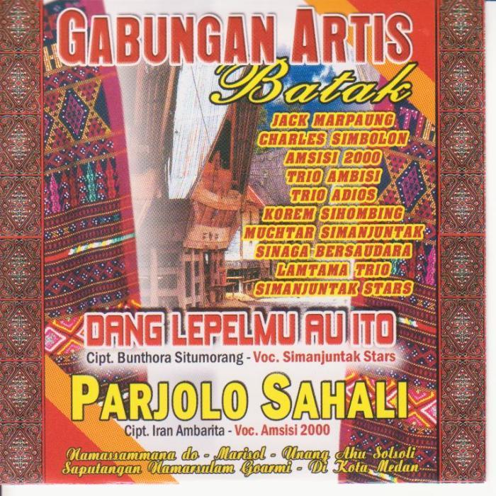 Gabungan Artis Batak - Parjolo Sahali
