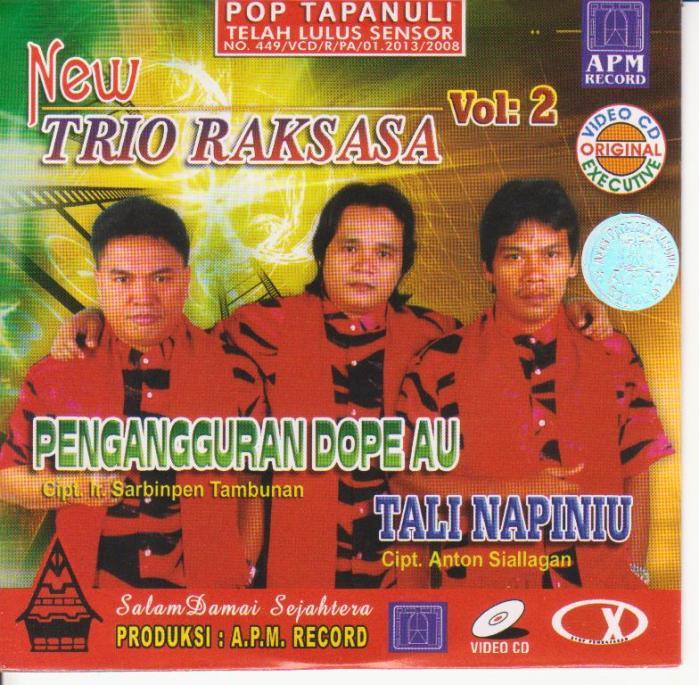 Raksasa Trio Vol.2 - Pengangguran Dope Au