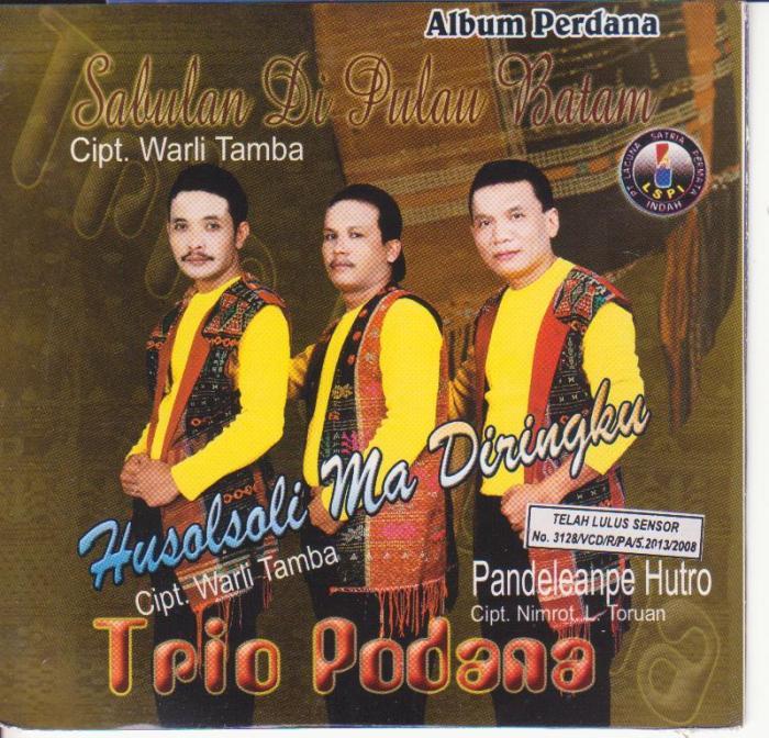 Podana Trio - Sabulan Di Pulau Batam