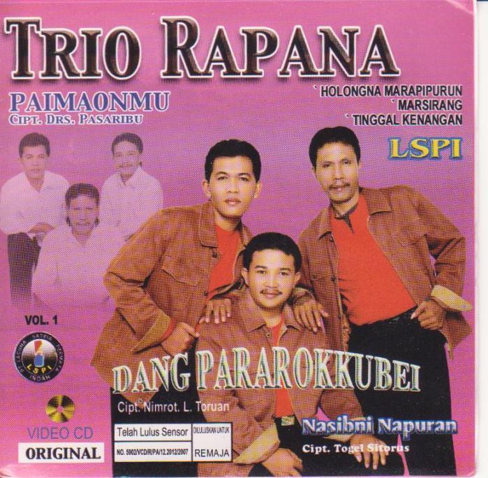 Rapana Trio - Dang Pararokku Bei