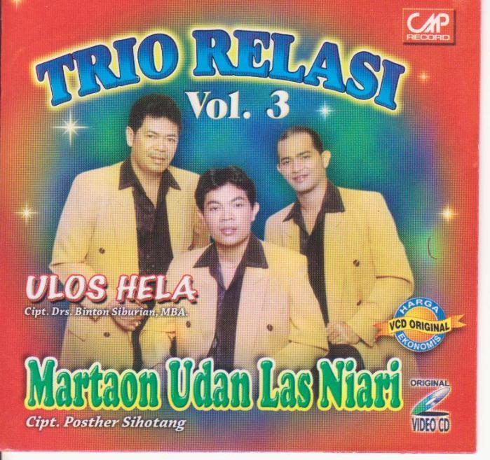 Relasi Trio Vol.3 - Martaon Udan Las Ni Ari