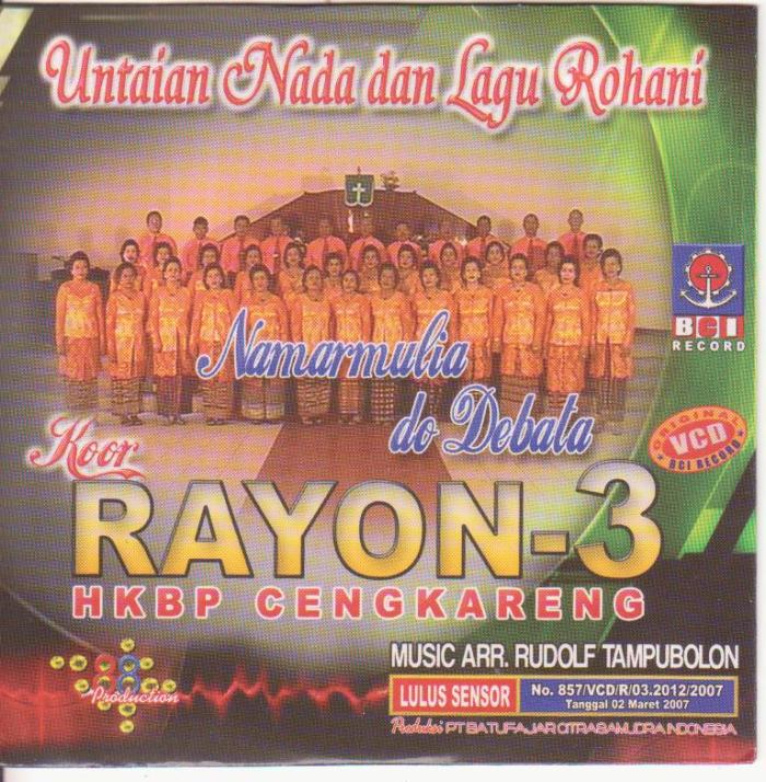 Untaian Nada & Lagu Rohani - Rayon 3